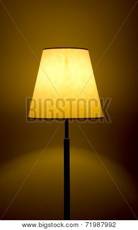 Floor Warm Lamp And Light