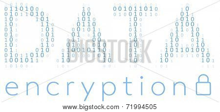 Binary Digital Data Encryption encoding for communication security