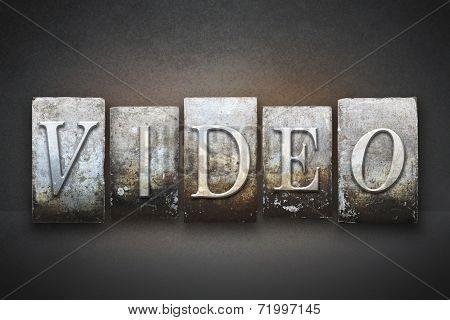 Video Letterpress