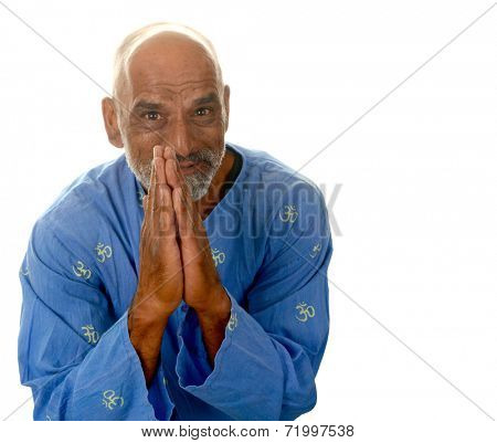 Nice Happy Healthy Image of a Yoga master