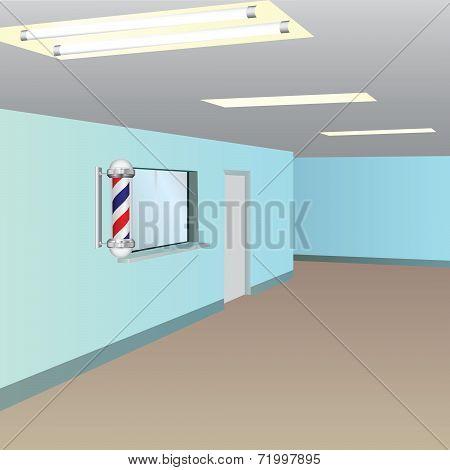 Window Receptionists Barbershop
