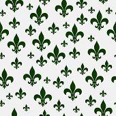 pic of fleur de lis  - Green Fleur - JPG