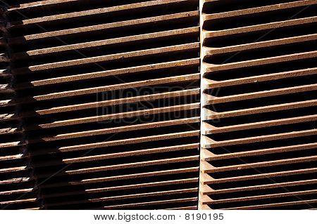 Industrial Metal Detail