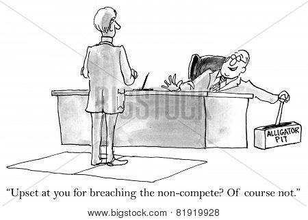 Breaking Non-compete