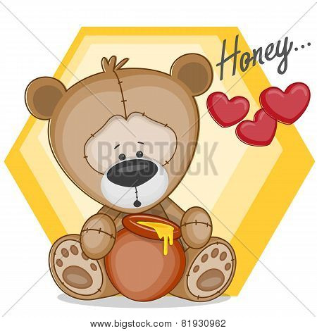 Teddy With Honey