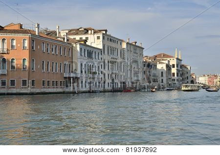 Buildings At Gran Canal