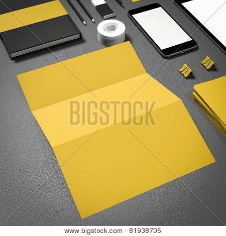 Template business for branding