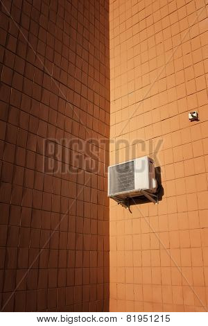 Air Conditioner On The Wall...