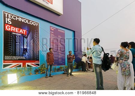 Great Britain Book Stall At Kolkata International Book Fair - 2015.