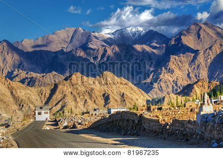 Mountains Of Leh, Ladakh, Jammu And Kashmir, India