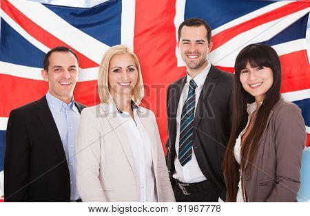 Portrait Of Businesspeople Group