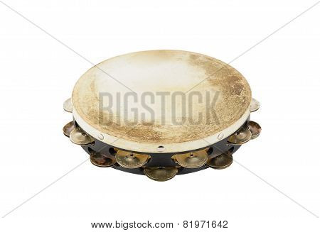 one old tambourine
