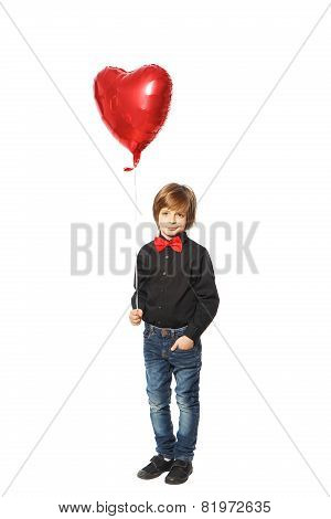 Boy With Heart In Hand