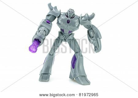 Megatron Toy Character From Transformers Prime Animation Series.