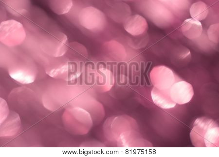 Pastel pink background with bokeh effect
