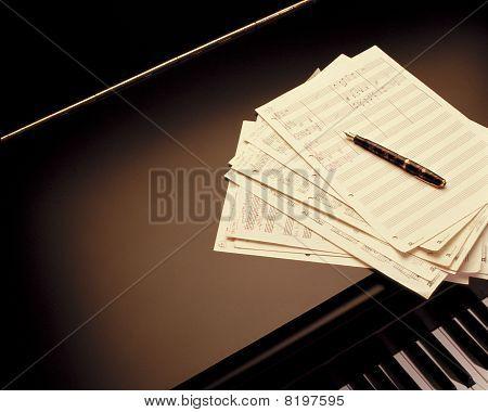 Writing A Piano Music Score