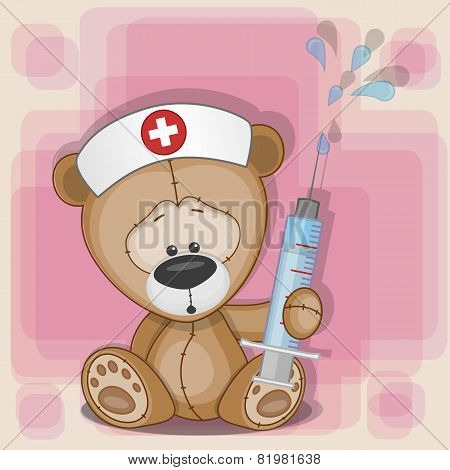 Teddy Bear Nurse