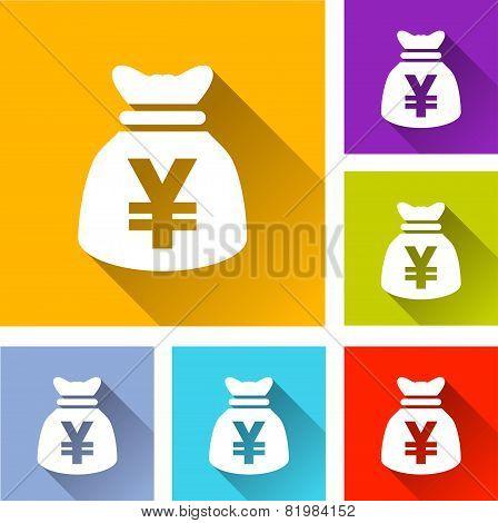 Yen Bag Icons