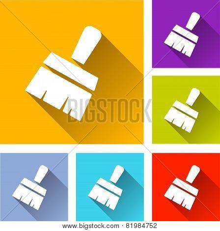 Paint Brush Icons