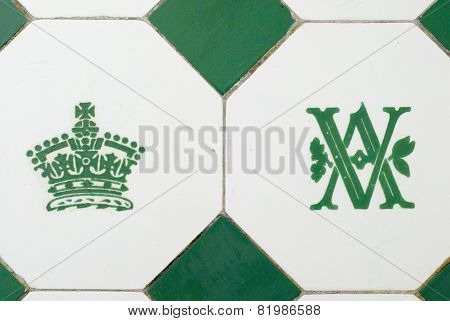 Wall tile, The Victoria & Albert Museum, London