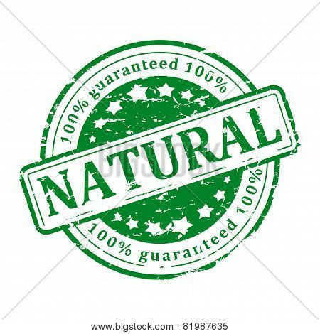 Green Stamp - Natural