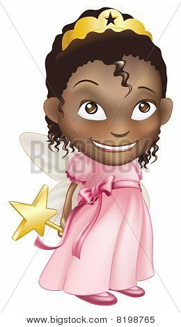 menina princesa de fadas