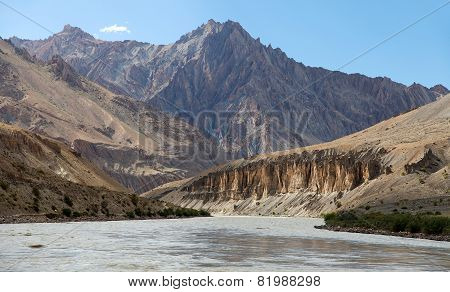 Zanskar River And Zanskar Valley - Ladakh
