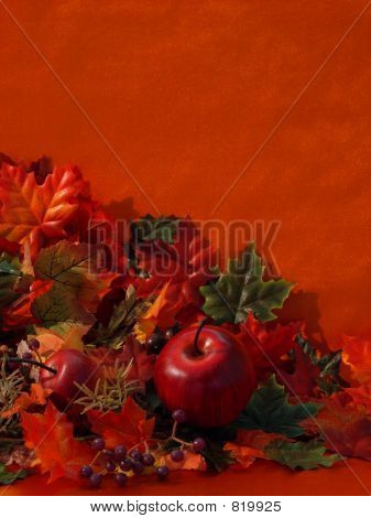 Artificial Fall Colored Cornucopia