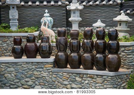 Kimchi jars