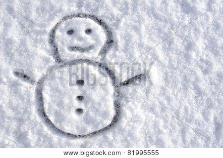 Snowman Sketch