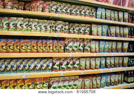 Groceries In A Store