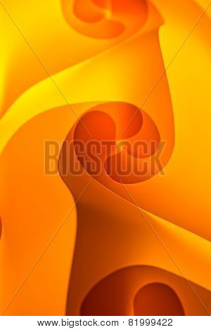 An orange and yellow background