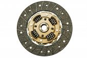 picture of clutch  - Clutch disc car on a white background - JPG