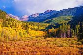 picture of mountain-range  - Scenic Aspen Lanscape - JPG