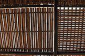 stock photo of lockups  - Bamboo cage jail in Vietnam for American prisoners - JPG