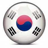 picture of seoul south korea  - Vector Image  - JPG
