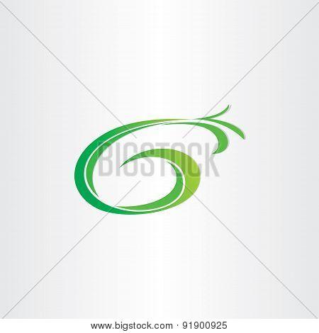 Letter G Bio Gasoline Plant Icon