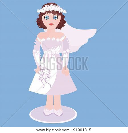 Figurine Of Bride
