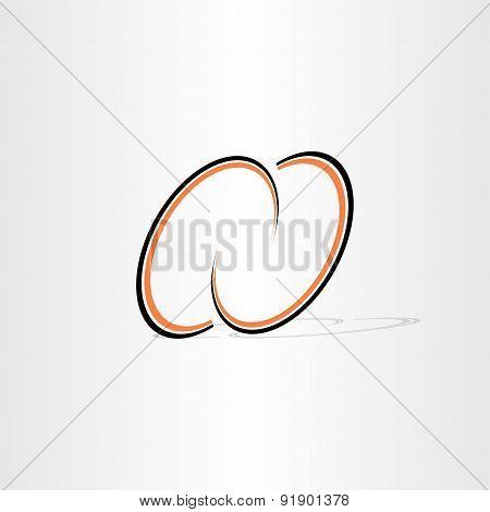 Letter N Line Symbol