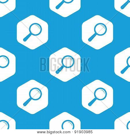 Search hexagon pattern