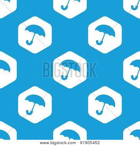 Umbrella hexagon pattern
