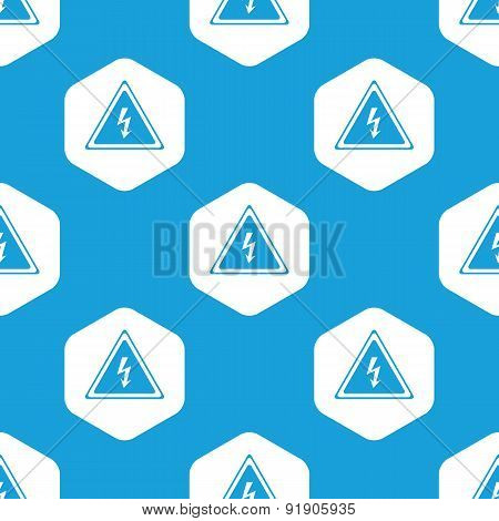 High voltage hexagon pattern