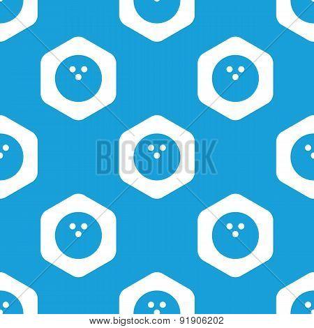 Bowling hexagon pattern