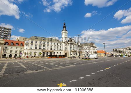 Jablonowski Palace In Warsaw In Poland
