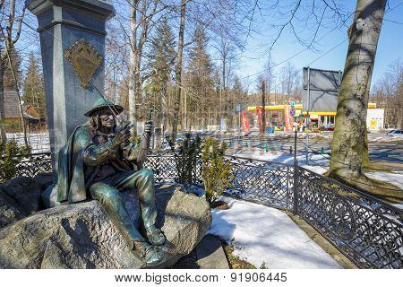 Monument To Chalubinski And Sabala