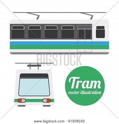 Transport design over white background vector illustration