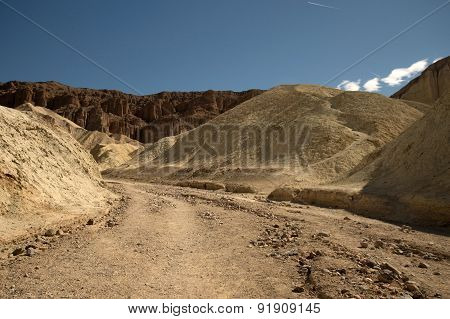 Golden Canyon Trail, Death Valley Np, California, Usa