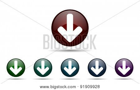 download arrow icon arrow sign