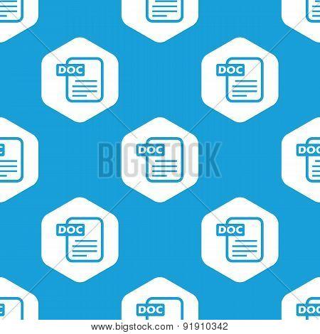 Doc file hexagon pattern