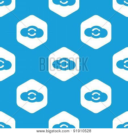 Cloud exchange hexagon pattern